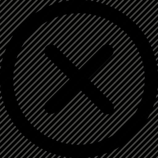 cancel, delete, multiply, remove icon