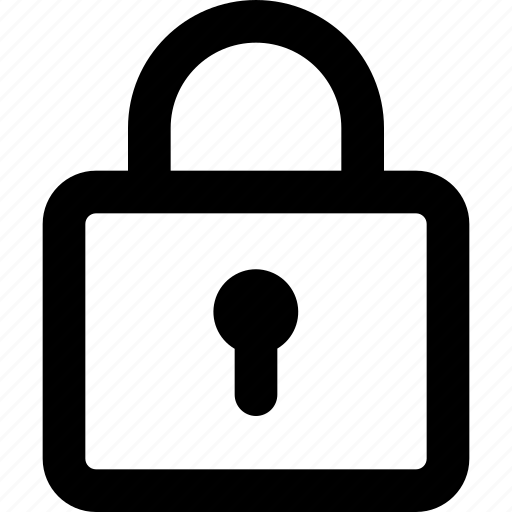 lock, padlock, safe, security icon