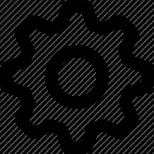 Gear, cog, settings icon