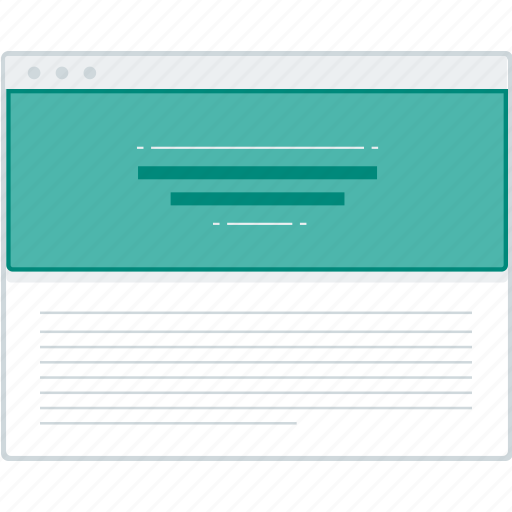 article, blog, layout, page, website, wireframe, workflow icon