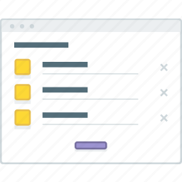 cart, ecommerce, layout, page, product, website, wireframe icon