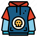 clothing, fashion, hoodie, weather icon