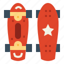 board, competition, penny, skateboard, sports icon