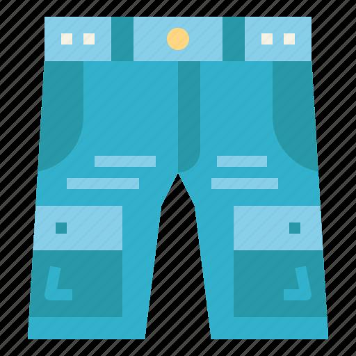 clothes, fashion, jean, short icon