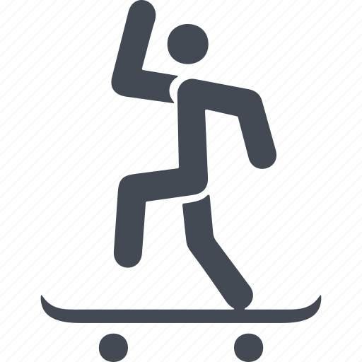 board, run, skate, skateboard, skateboarding, sport icon
