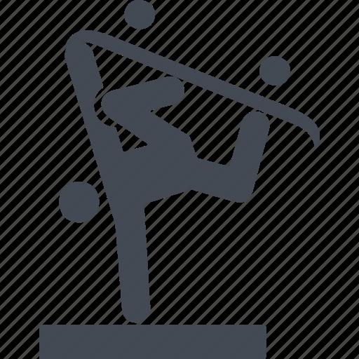 board, skate, skateboarding, sport, upside down icon