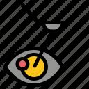 eye, laser, lasik, surgery, treatment icon