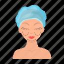 body, care, cosmetics, cream, mask, person, skin