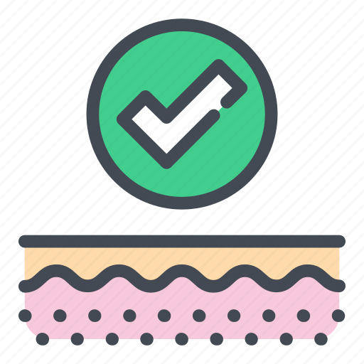 Care, check, healthcare, layer, skin, skincare, tick icon - Download on Iconfinder