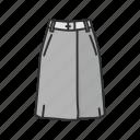 skirt, clothes, dress, clothing, garment, fashion, a-line skirt