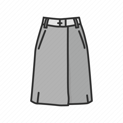 a-line skirt, clothes, clothing, dress, fashion, garment, skirt icon