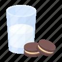 milk, rest, sleep, comfort, biscuits, glass, food