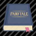 book, comfort, fairy tales, reading, rest, sleep icon