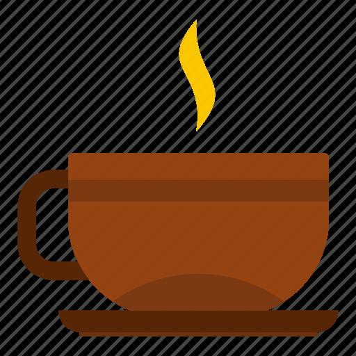 beverage, cup, drink, hot, mug, saucer, tea icon