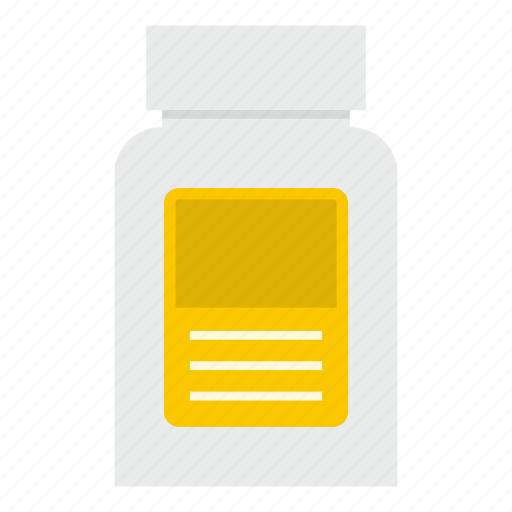 bottle, drug, hypnotic, medicine, pharmaceutical, pharmacy, pill icon