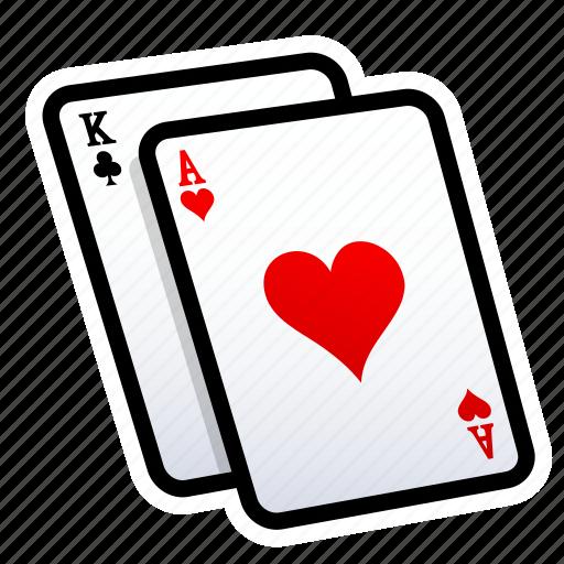card, casino, gambling, heart, play, poker, slot icon
