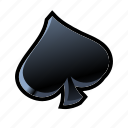 card, cards, casino, game, poker, slot, spades icon