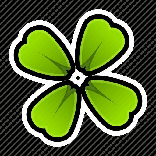 achievement, casino, clover, game, luck, slot, win icon
