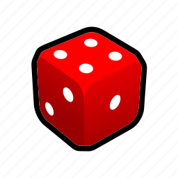 board game, casino, dice, luck, player, rpg, win icon