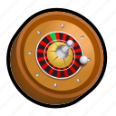 ball, casino, gambling, game, poker, roulette, slot icon