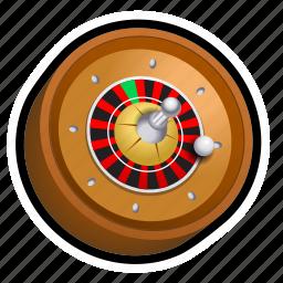 ball, casino, gambling, game, poker, roulette, slot icon