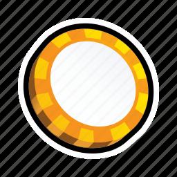 cash, casino, coin, game, poker, slot, token icon