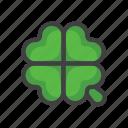 charm, clover, four-leaf, four-leaf clover, luck, slot machine