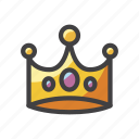 crown, circlet, tiara, diadem, coronet, slots icon