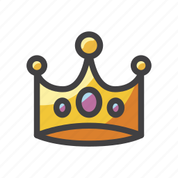 circlet, coronet, crown, diadem, slots, tiara icon