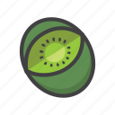 fruit, fruit game, game, kiwi, slot symbol icon