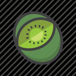 fruit, fruit game, game, kiwi, slot symbol icon