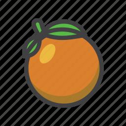 citrus, fruit, fruit game, game, orange, slots symbol icon