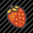 fruit, fruit game, game, strawberry icon
