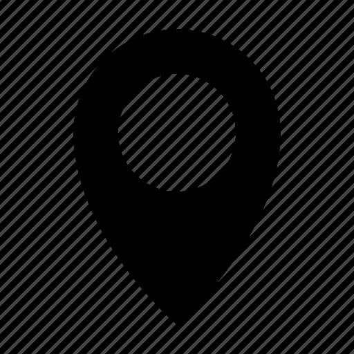 address, destination, location, map, pin icon