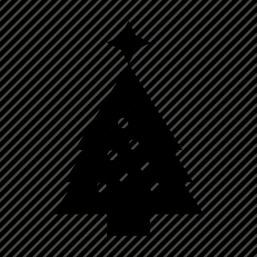 christmas, holiday, pine, tree, xmas icon