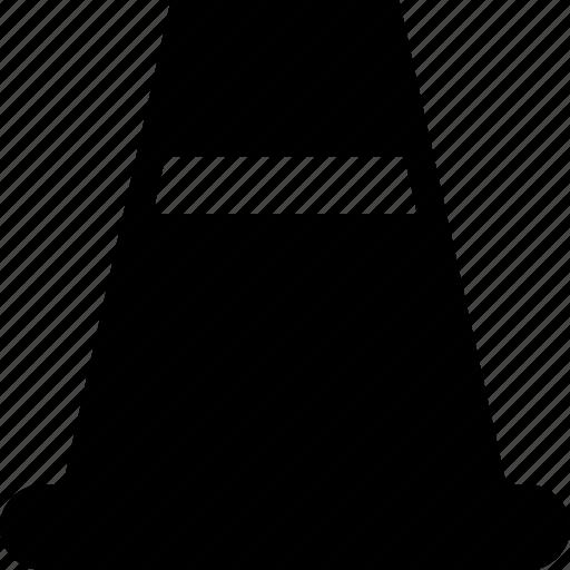alert, cone, construction, edit, traffic, under icon