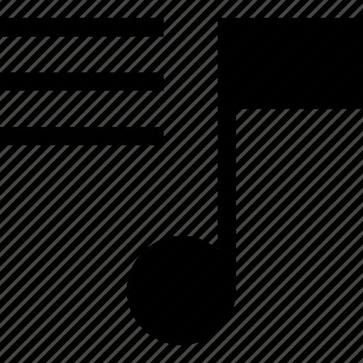 list, music, play, player, playlist, sound icon