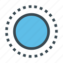 circle, dashed, elliptical, marquee, select, selection, tool icon
