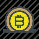 bank, bitcoin, currency, deposit, money, save, savings
