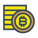 bitcoin, coin, coins, currency, stack