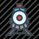 old, rails, railway, train, transport, transportation