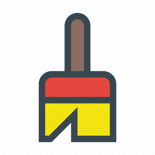broom, broomstick, clean, cleaner, cleaning, dust icon