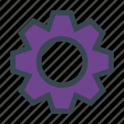configuration, gear, preferences, settings, wheel icon