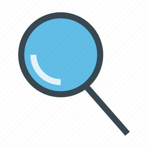 magnifier, search, searching, zoom icon