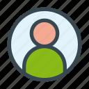 avatar, client, man, person, user