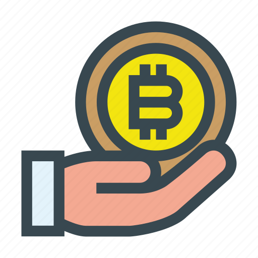 aid, bitcoin, charity, coin, contribution, donate, donation icon
