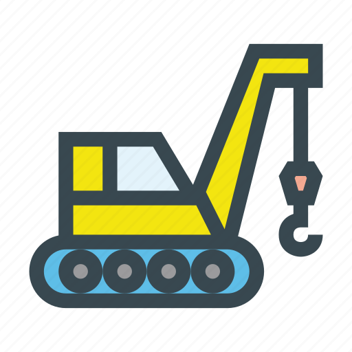 Build, construction, crane, lifter, machine icon - Download on Iconfinder
