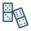 domino, gambling, game, pieces, player