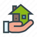 hand, house, owner, property, receive