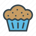 birthday, cake, cupcake, food, sweet
